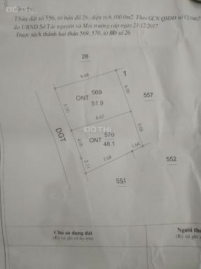 Bán đất tại Xã Vũ Lạc, TP Thái Bình, diện tích 48m2, giá 280 triệu