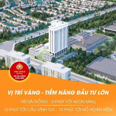 Mua CHCC TSG Lotus Sài Đồng tặng 2 cây vàng, hỗ trợ lãi suất 0%, CK 3,5%. LH: 0939576636