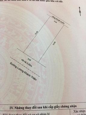 Bán lô đường 5m5 Lương Khánh Thiện, trung tâm Liên Chiểu giá rẻ nhất thị trường chỉ 3 tỷ