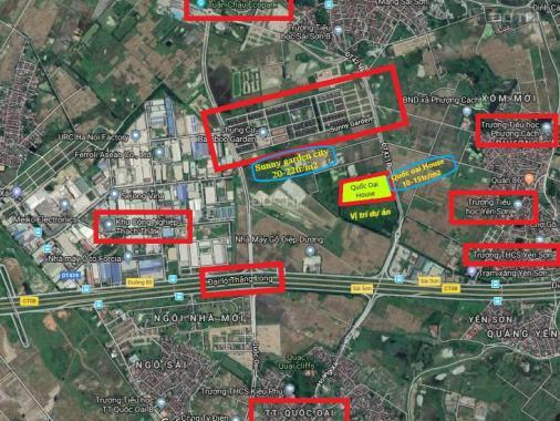 Đất nền phân lô mặt đường Đại Lộ Thăng Long, giá chỉ từ 10 triệu/m2