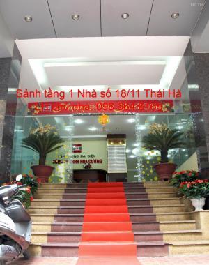 75m2 VP cho thuê tại phố Thái Hà với giá rẻ, dịch vụ tốt. LH trực tiếp chủ nhà 0986 646 16