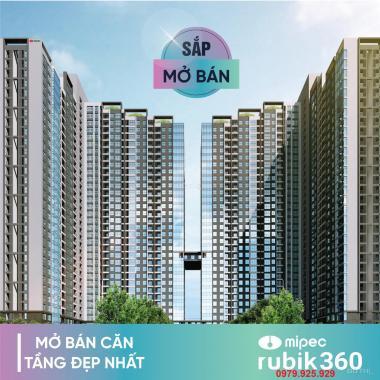 Mở bán CC Mipec Rubik 360 chỉ từ 3.2 tỷ/85m2, full nội thất cao cấp, CK 6%, HTLS 0% trong 2 năm