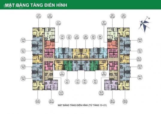 Chính chủ nhượng căn 67m2 để lại gói vay 4.5%/năm dự án 282 Nguyễn Huy Tưởng, 0971633628