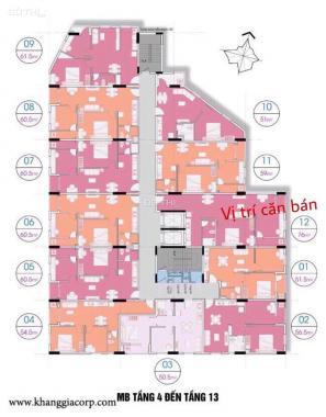 Bán chung cư Khang Gia Chánh Hưng, phường 16, Quận 8, giá 1,67 tỷ