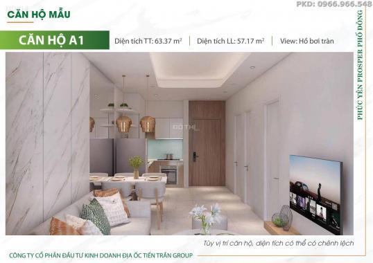 Sở hữu officetel tại dự án Prosper Phố Đông, Thủ Đức, Hồ Chí Minh, DT 25m2, giá 40 triệu/m2