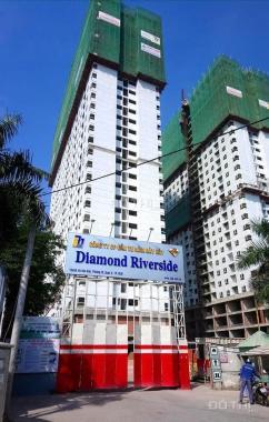 Cần bán lại CH Diamond Riverside lầu 18 góc, view công viên, căn 2PN, 2WC, 1.72 tỷ, 0937934496