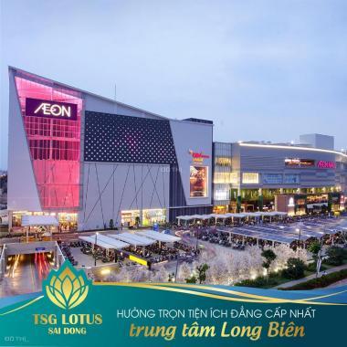 Bán căn hộ TSG Lotus Long Biên. Căn 72m2 - 2PN, CK 257tr or vay LS 0% trong 12 tháng, chỉ 1.95 tỷ