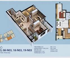 Bán căn 18 tòa N03, giá 2 tỷ có nội thất chung cư New Horizon số 87 Lĩnh Nam, Hoàng Mai
