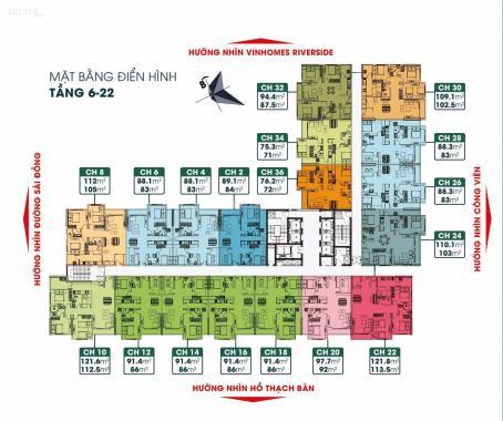 Bán CH TSG Lotus tầng 16 căn số 10, DT 112.5 m2, giá ngoại giao 25 triệu CK 7,5%. LH: 09345 989 36