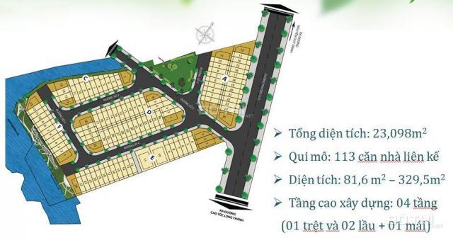 Đất nền dự án đường Trường Lưu, Q9, giá 3.3 tỷ (100m2)