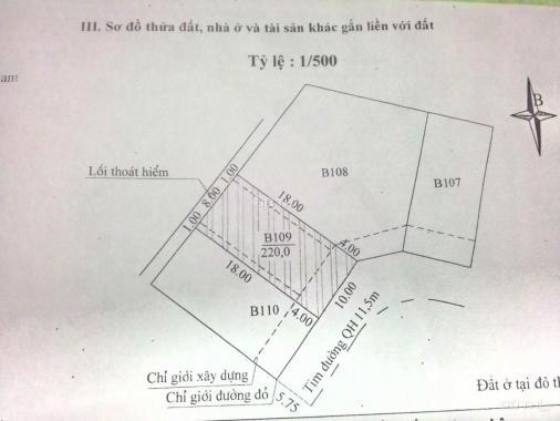 Bán đất tại Đường Yết Kiêu, Phường Tân Thạnh, Tam Kỳ, Quảng Nam, diện tích 220m2, giá 3.4 tỷ