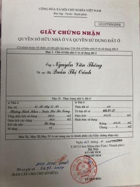 Bán nhà chính chủ 107m2 tại Tạ Quang Bửu, Hai Bà Trưng, đầy đủ tiện nghi