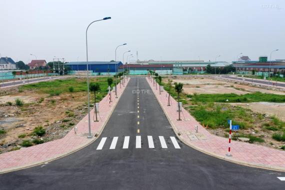 Bán gấp lô đất MT Thuận An Hòa 100m2 sổ đỏ sang tên ngay 4x25m, 2.8 tỷ