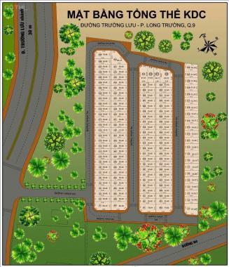 Đất dự án ECO6 Trường Lưu DT: 50.4m2 (4m x 12.6m) hướng Đông Nam, giá: 2,05 tỷ, LH: 0903377500