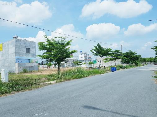 Bán đất giá quá rẻ 6x19m SHR, thổ cư KDC Tân Đô xã Đức Hòa Hạ, Đức Hòa, Long An, giá 1.4 tỷ