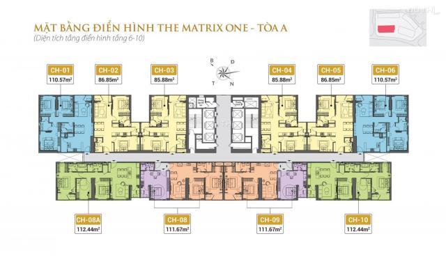Bán căn hộ The Matrix One, Mễ Trì, Nam Từ Liêm, Hà Nội