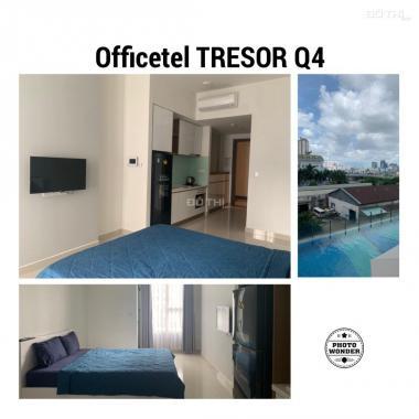 Officetel The Tresor - Quận 4, nhà có nội thất, diện tích 28m2, bán 2 tỷ, view hồ bơi
