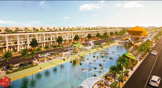 Bán đất nền dự án tại dự án Hamilton Garden, Đức Hòa, Long An diện tích 80m2, giá TT 392 triệu