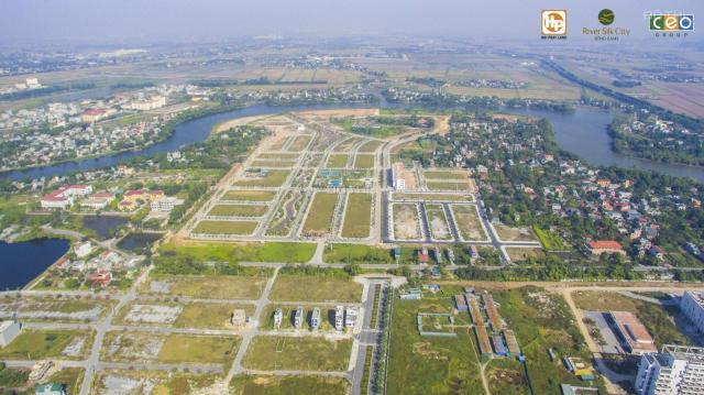 Bán lô góc 2 mặt tiền view sông, giá đầu tư