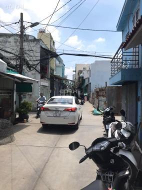 Bán nhà 2 tấm, ST (4PN), xe hơi đậu trước cửa nhà ngay khu đô thị quận Bình Tân, giá ưu đãi