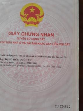 Bán nhà đẹp thổ cư 100%, mới xây đẹp hẻm 175 Lý Thái Tổ, TP. Bảo Lộc