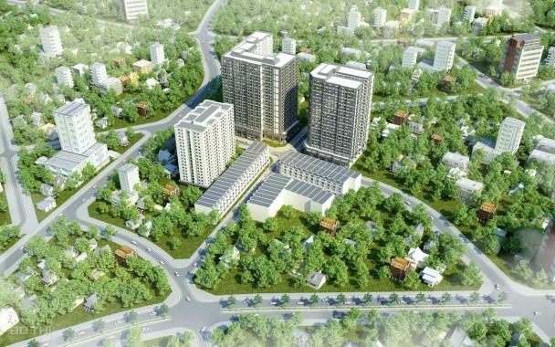 Bán nhà phố trung tâm Thuận An, cách Aeon Mall 5p đi xe. Quý 1/2021 giao nhà