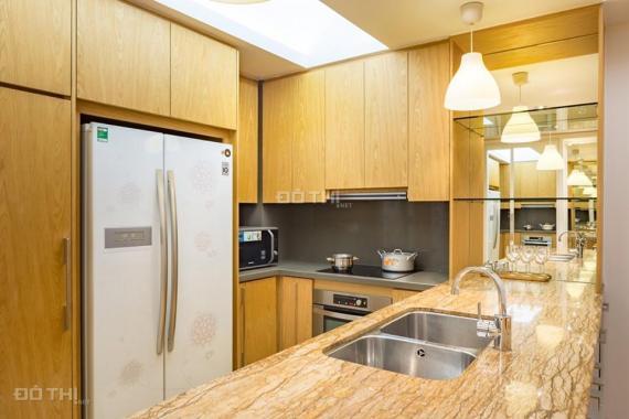 Cho thuê CH 2PN 98m2 đầy đủ nội thất đẹp (hình thực tế) tòa W Indochina Plaza, BC Đông Nam thoáng