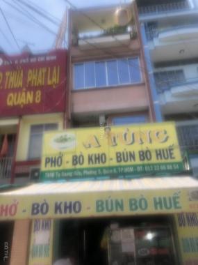 Nhượng lại nhà 3 lầu ở Tạ Quang Bửu, tiện kinh doanh ở Quận 8