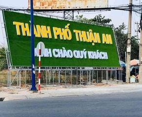 Chỉ cần 590 triệu sở hữu ngay lô đất sổ đỏ tại TP Thuận An, hỗ trợ vay NH cùng Queen Home