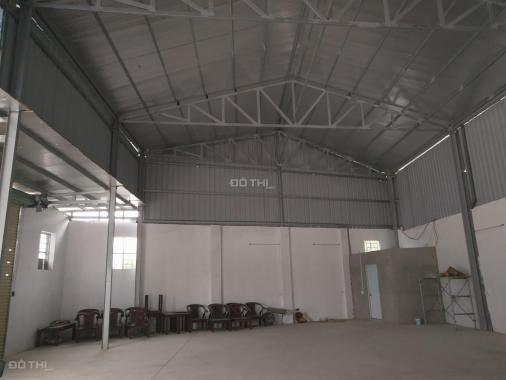 Chính chủ cho thuê kho xưởng Thanh Oai 350m2, ô tô tải tránh, MT rộng, có thể ở, KD
