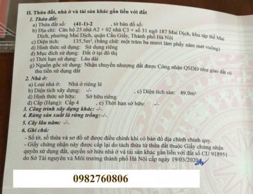 Cần bán gấp nhà mặt phố Trần Vỹ - Lê Đức Thọ kéo dài. 136m2/ 10 tầng thang máy