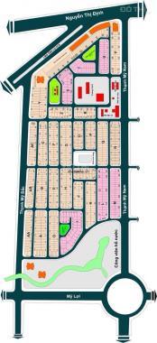 Bán nhà Thạnh Mỹ Lợi khu dân cư Số 1 gần chợ khu hành chính (100m2), 10,5 tỷ chính chủ