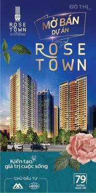 Chiết khấu và ưu đãi chưa từng có trong tháng 10 tại dự án Rose Town - 79 Ngọc Hồi chỉ từ 1,4 tỷ