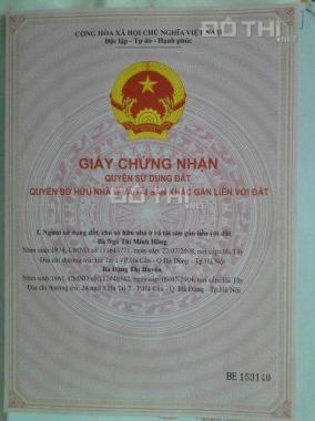 Đất chính chủ 24tr/m2 Trần Đại Nghĩa - Bình Chánh, 100m2, gần KCN, chợ, SHR, LH: 0707069985