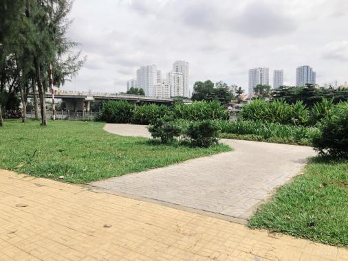 Bán đất biệt thự đường Số 1 KDC Trung Sơn, View Sông thoáng mát, đất vuông vức 200m2, sổ hồng CC