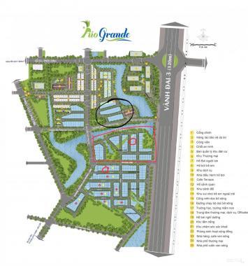 Bán nền góc đường 20m dự án Centana Điền Phúc Thành, giá rẻ nhất thị trường