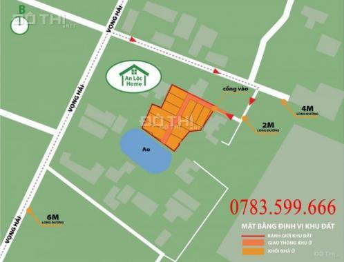 Bán lô đất khu phố Vọng Hải, Quận Dương Kinh, TP. Hải Phòng, chỉ với 2xx triệu. LH: 0783.599.666