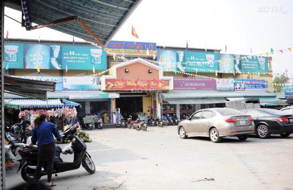 Bán đất đối diện chợ Cẩm Lệ - 2 mặt tiền trước sau đường 7m5 Nguyễn Văn Huyên - thuận tiện buôn bán