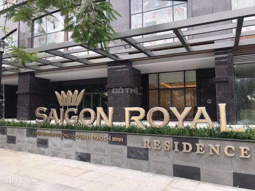 Bán nhanh căn officetel Saigon Royal - Quận 4, giá 3.2 tỷ, diện tích 34m2, view đẹp