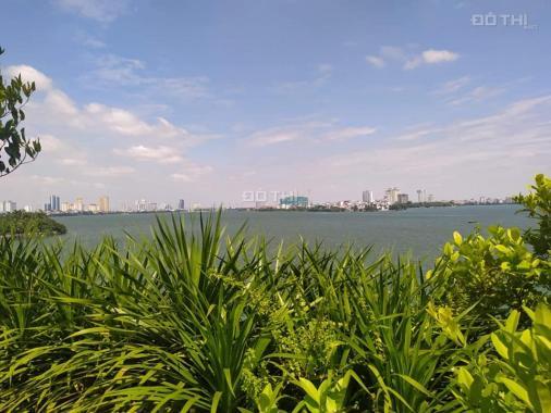 Đất mặt hồ Tây - 121m2 - 5,5m mặt tiền - vỉa hè rộng - kinh doanh vip - xây tòa VP
