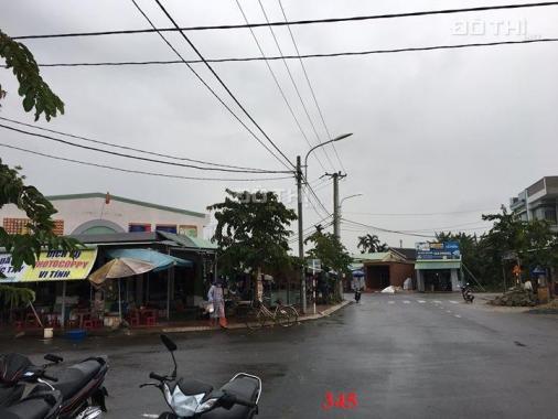Chính chủ đáo hạn ngân hàng cần bán lô đất mặt tiền chợ, ngay trạm thu phí ĐN - QN. Đường 10,5m