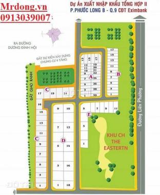 Bán đất Liên Phường, Quận 9, 100m2, 55tr/m2 gần Bưng Ông Thoàn 0913039007
