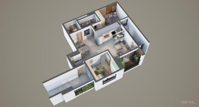 Ưu đãi lớn khi mua căn 2PN 71.3m2 chung cư cao cấp Bonanza 23 Duy Tân, Cầu Giấy