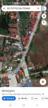 Bán lô đất tại trục đường 402 Hoà Nghĩa, Dương Kinh, Hải Phòng DT 175m2 MT 7m. LH 0964329789