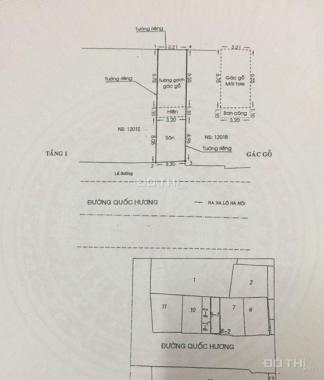 Nhà phố đường Quốc Hương, Thảo Điền, Quận 2. Diện tích: 41,6m2, giá tốt