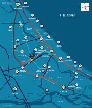 Đất nền dự án chiết khấu khủng 6%, đất nền ven sông Cổ Cò - dự án Glenda City
