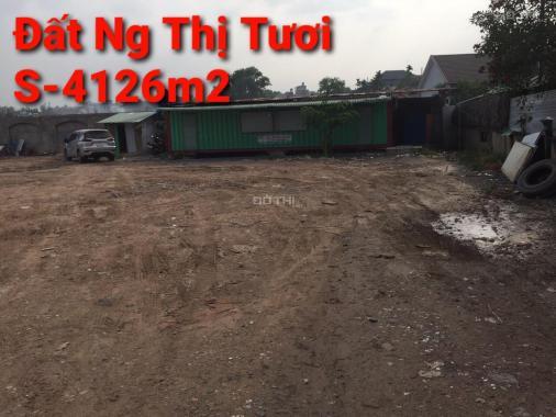 Bán đất tại đường Nguyễn Thị Tươi, Phường Tân Bình, Dĩ An, Bình Dương diện tích 4126m2 giá 33 tỷ