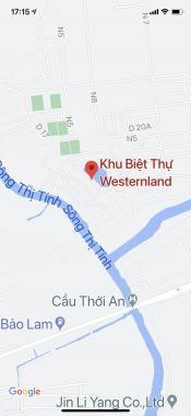 Khu biệt thự nghỉ dưỡng Western Land bán vị trí góc 630m2 Mỹ Phước 1, Bình Dương. LH 0708381094