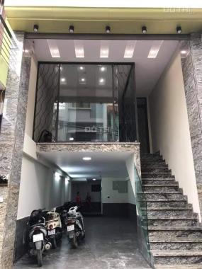 Nhà mới bán gấp Quận Hoàng Mai, DT 75m2 x 8 tầng, kinh doanh, thang máy, ô tô tránh, chào 15.6 tỷ