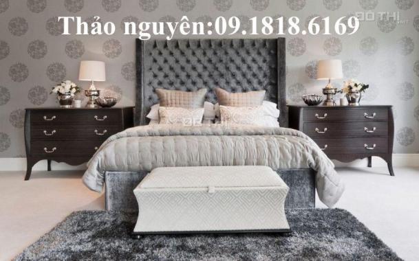Bán căn hộ siêu đẹp nhà full đồ DT 45m2, ban công Đông Nam mát lịm nhà sổ đỏ chính chủ